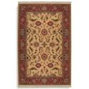 Karastan Rugs Ashara 10'x14' Agra Ivory Rug
