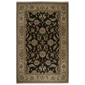 Karastan Rugs Ashara 5'9x9' Agra Black Rug