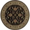 Karastan Rugs Ashara 10'x14' Agra Black Rug