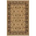 Karastan Rugs Ashara 4'3x6' Toscano Rug - Item Number: 00549 15009 051072
