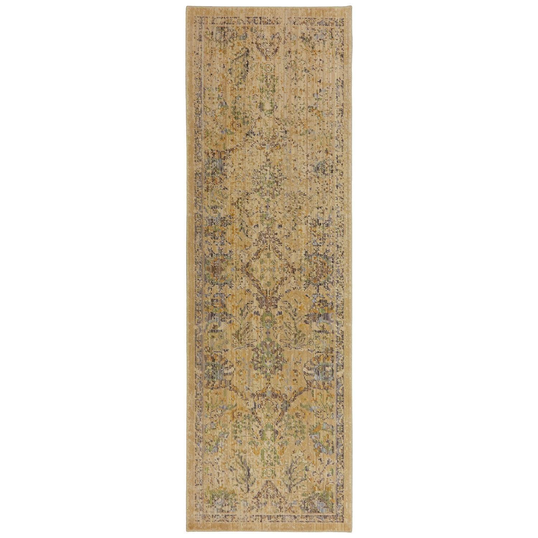Karastan Rugs Bravado 2'6x8' Pasha Cream Rug Runner - Item Number: RG817 238 030096