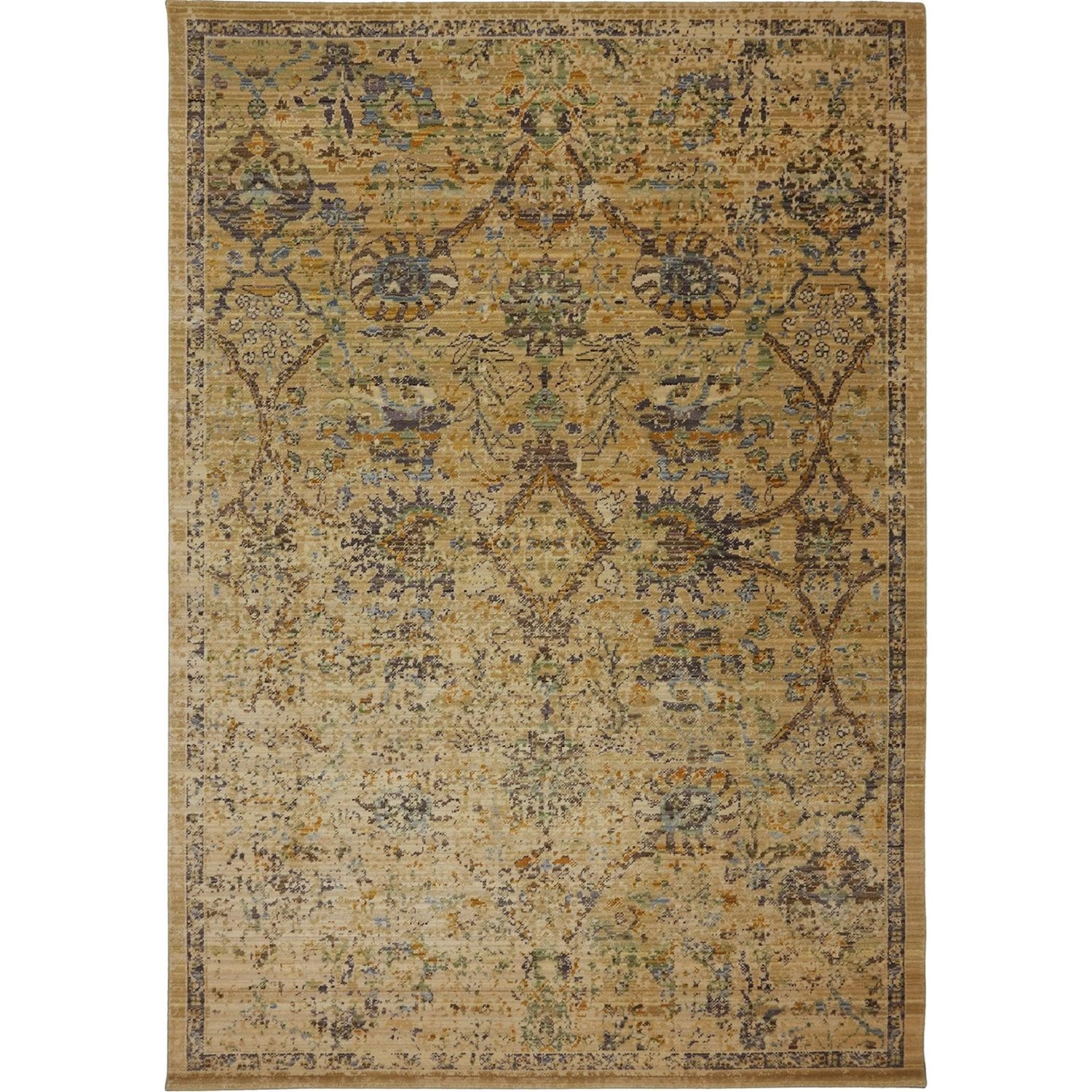 7'9x9'9 Pasha Cream Rug