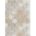 "Karastan Rugs Cosmopolitan 5' 3""x7' 10"" Rectangle Ornamental Area Rug - Item Number: 90954 20047 063094"