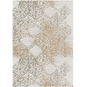 "Karastan Rugs Cosmopolitan 9' 6""x12' 11"" Rectangle Ornamental Area Rug - Item Number: 90954 20047 114155"