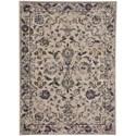 Karastan Rugs Cosmopolitan 8'x11' Rectangle Ornamental Area Rug - Item Number: 90955 50134 096132