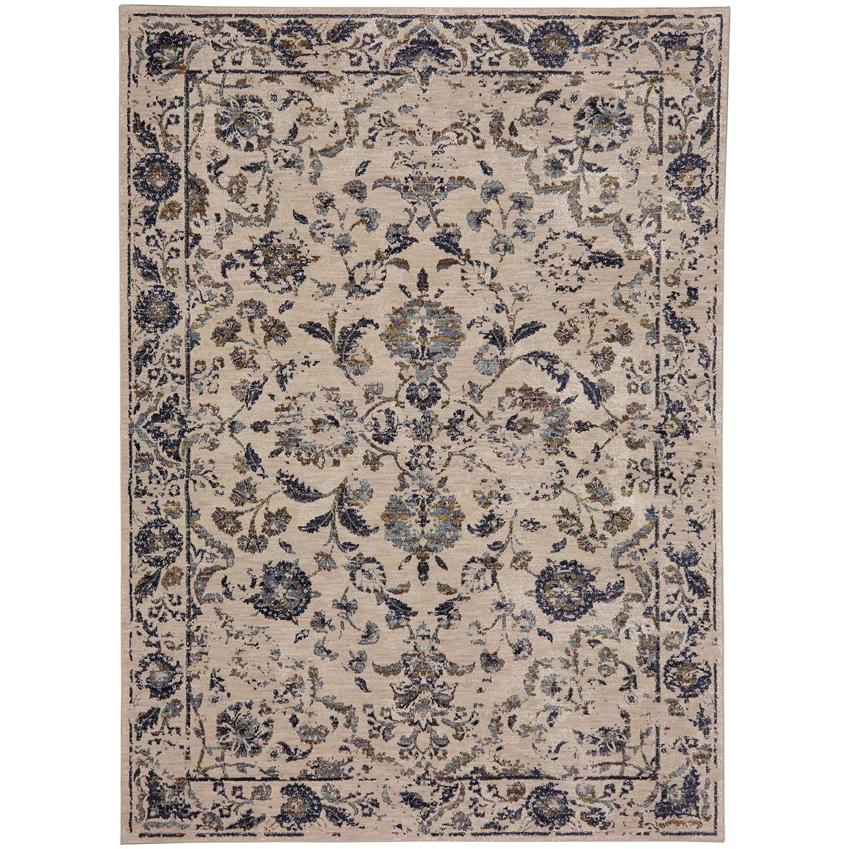 "Cosmopolitan 9' 6""x12' 11"" Rectangle Ornamental Area Rug by Karastan Rugs at Darvin Furniture"