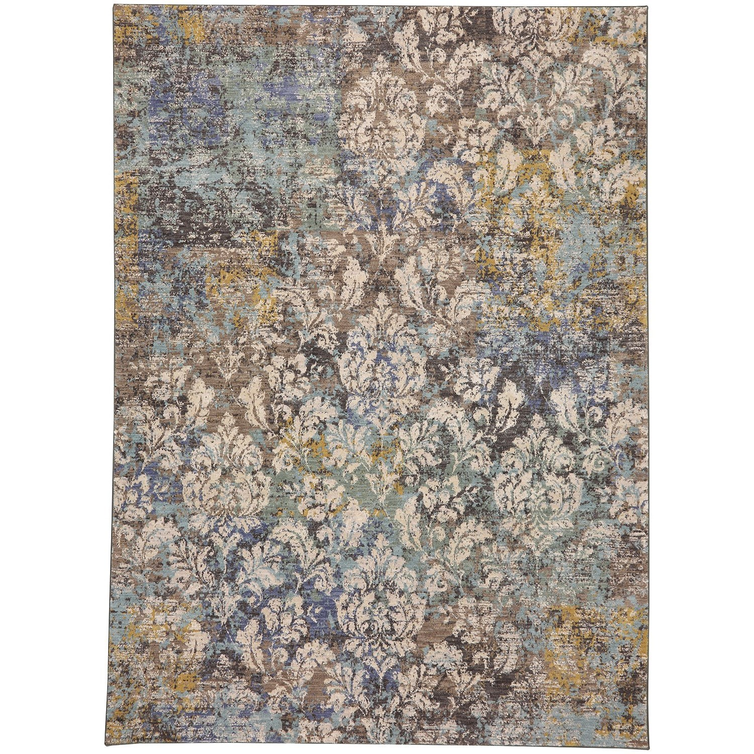 8'x11' Rectangle Ornamental Area Rug