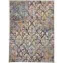 Karastan Rugs Cosmopolitan 8'x11' Rectangle Ornamental Area Rug - Item Number: 90957 90116 096132
