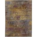 Karastan Rugs Cosmopolitan 8'x11' Rectangle Ornamental Area Rug - Item Number: 90958 10037 096132