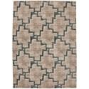 "Karastan Rugs Cosmopolitan 9' 6""x12' 11"" Rectangle Geometric Area Rug - Item Number: 90959 60128 114155"