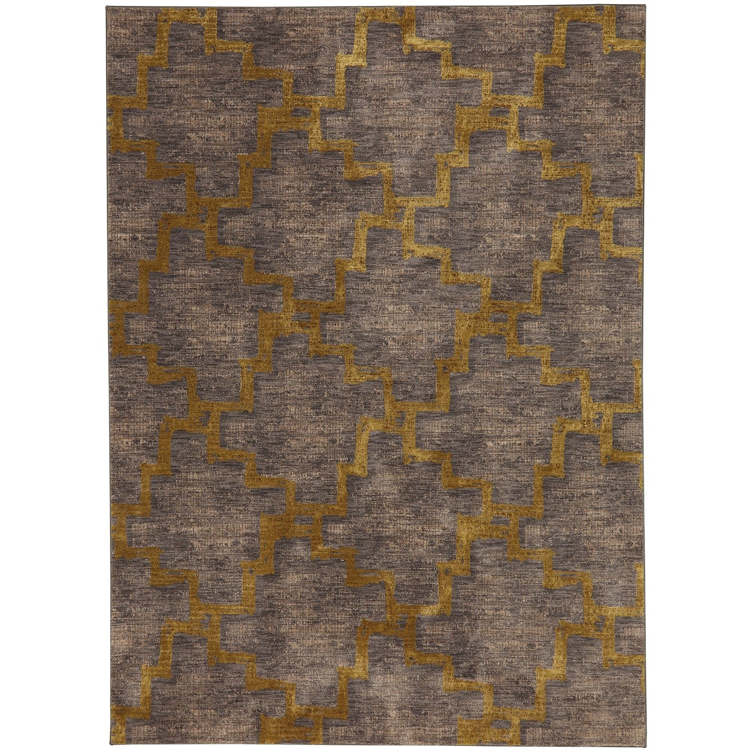 "Cosmopolitan 5' 3""x7' 10"" Rectangle Geometric Area Rug by Karastan Rugs at Darvin Furniture"