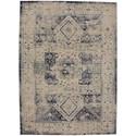 Karastan Rugs Cosmopolitan 8'x11' Rectangle Ornamental Area Rug - Item Number: 90960 50134 096132