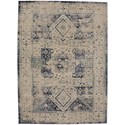 "Karastan Rugs Cosmopolitan 9' 6""x12' 11"" Rectangle Ornamental Area Rug - Item Number: 90960 50134 114155"
