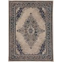 "Karastan Rugs Cosmopolitan 5' 3""x7' 10"" Rectangle Ornamental Area Rug - Item Number: 90961 50134 063094"