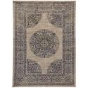 "Karastan Rugs Cosmopolitan 5' 3""x7' 10"" Rectangle Ornamental Area Rug - Item Number: 90962 50134 063094"