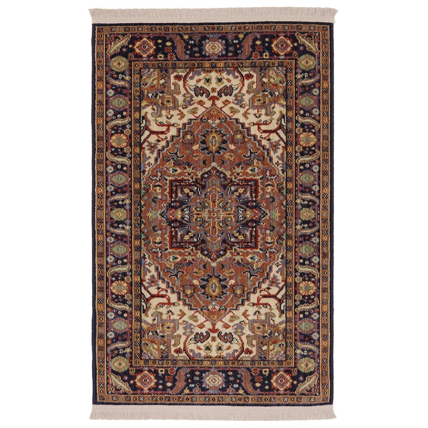 Karastan Rugs English Manor 2'6x4' Windsor Rug - Item Number: 02120 00501 030048