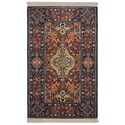 Karastan Rugs English Manor 2'6x4' Hampton Court Rug - Item Number: 02120 00504 030048