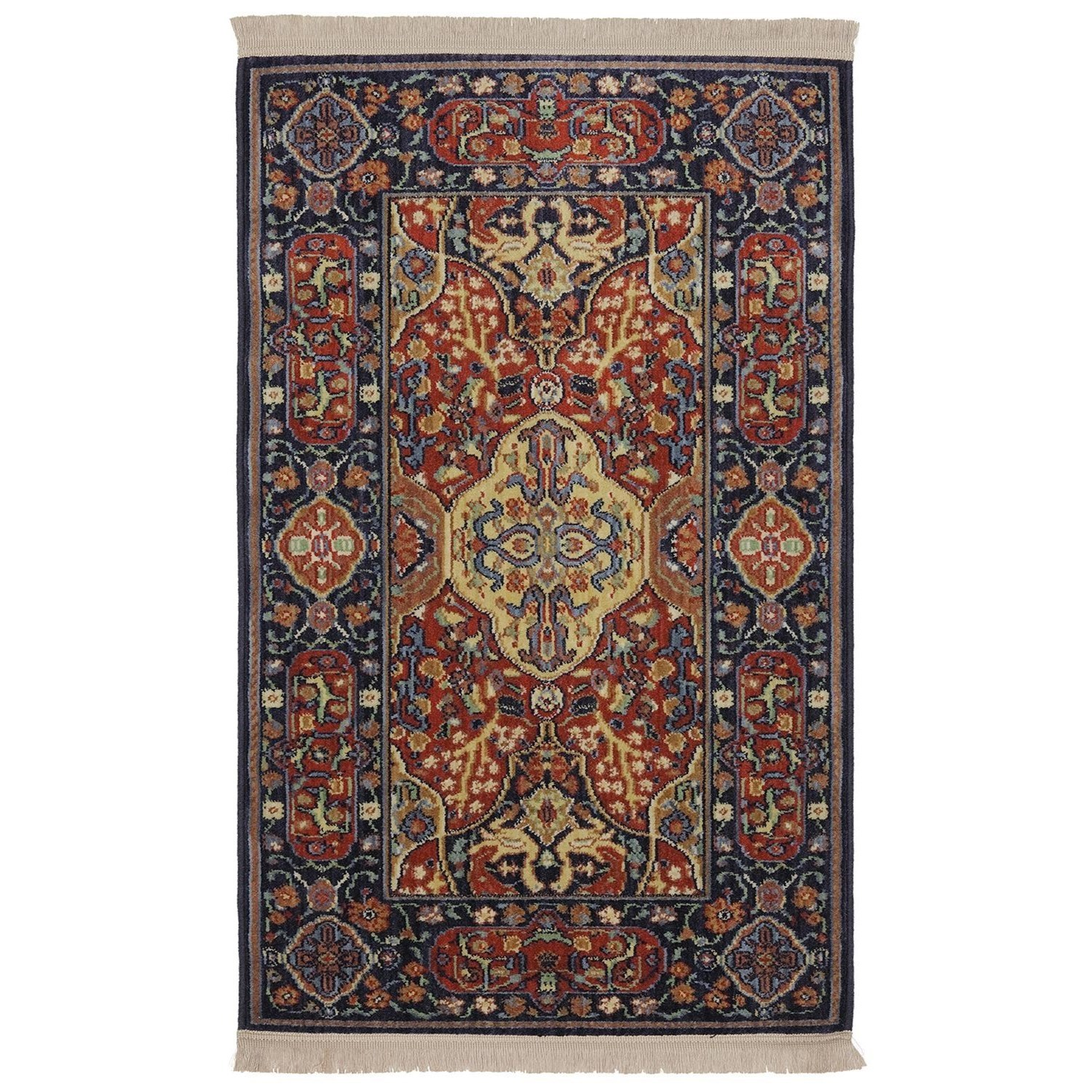Karastan Rugs English Manor 2'6x8' Hampton Court Rug Runner - Item Number: 02120 00504 030096