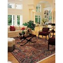 Karastan Rugs English Manor 2'6x12' Hampton Court Rug Runner