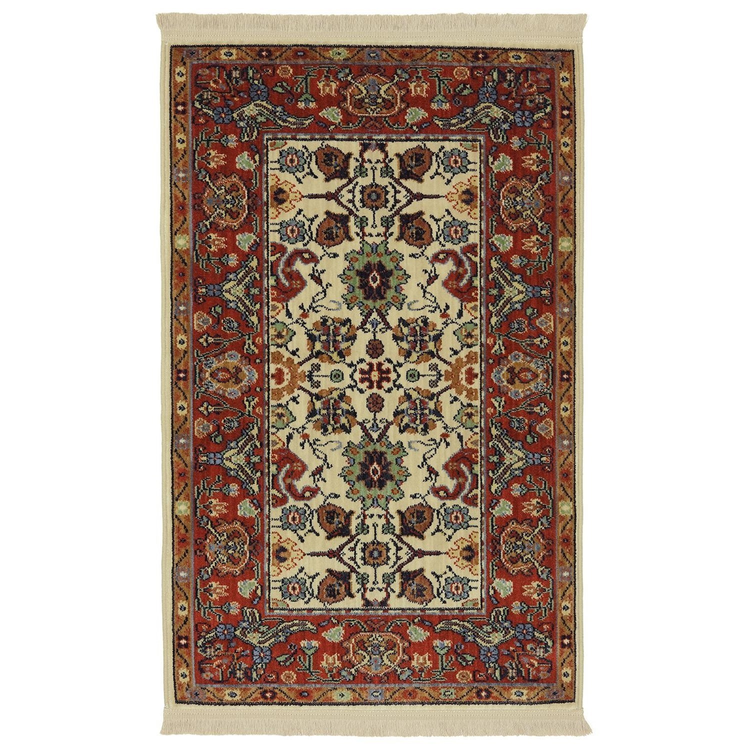 Karastan Rugs English Manor 2'6x4' Stratford Rug - Item Number: 02120 00505 030048