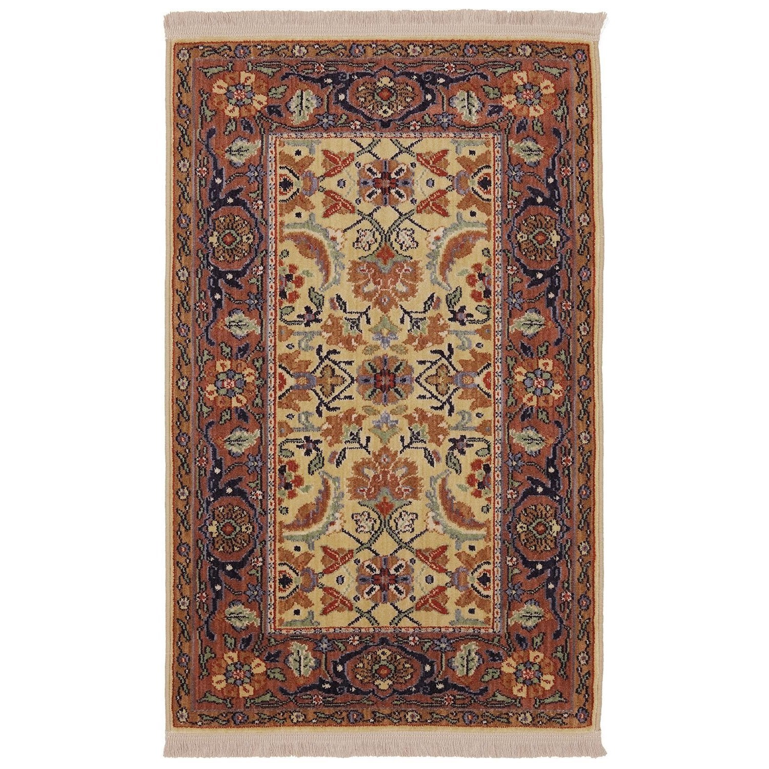 Karastan Rugs English Manor 5'7x7'11 Brighton Rug - Item Number: 02120 00506 067095