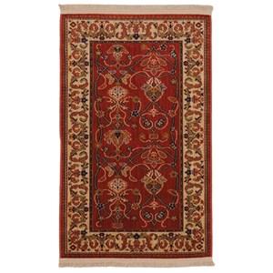Karastan Rugs English Manor 2'6x4' William Morris Red Rug