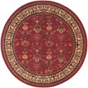 Karastan Rugs English Manor 3'8x5' William Morris Red Rug