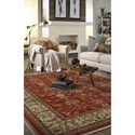 Karastan Rugs English Manor 5'7x7'11 William Morris Red Rug