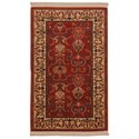 Karastan Rugs English Manor 8'x10'5 William Morris Red Rug - Item Number: 02120 00510 096125