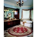 Karastan Rugs English Manor 8'x10'5 William Morris Red Rug