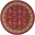 Karastan Rugs English Manor 8'6x11'6 William Morris Red Rug
