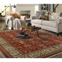 Karastan Rugs English Manor 9'2x13' William Morris Red Rug