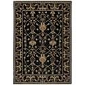 Karastan Rugs English Manor 2'6x4' William Morris Black Rug