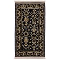 Karastan Rugs English Manor 3'8x5' William Morris Black Rug