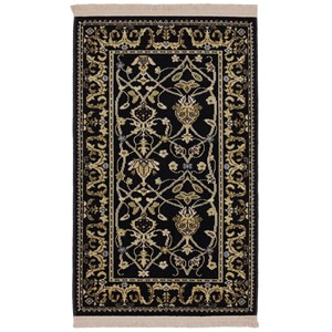 Karastan Rugs English Manor 8'6x11'6 William Morris Black Rug