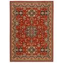 Karastan Rugs English Manor 8'x10'5 Manchester Red Rug - Item Number: 02120 00601 096125
