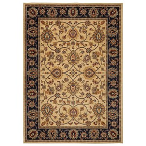 Karastan Rugs English Manor 2'6x12' Oxford Ivory Rug Runner