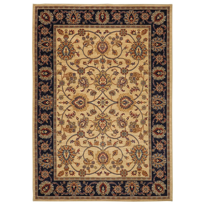 Karastan Rugs English Manor 5'7x7'11 Oxford Ivory Rug - Item Number: 02120 00604 067095