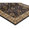 Karastan Rugs English Manor 2'6x4' Oxford Navy Rug