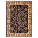 Karastan Rugs English Manor 8'6x11'6 Oxford Navy Rug - Item Number: 02120 00605 102138
