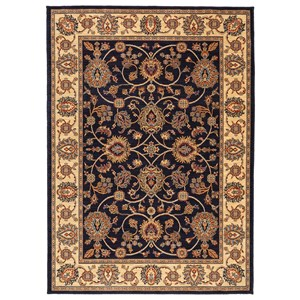 Karastan Rugs English Manor 9'2x13' Oxford Navy Rug