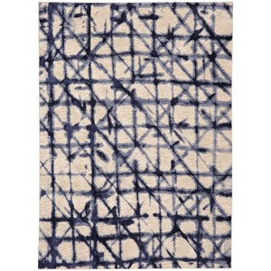 "Karastan Rugs Enigma 2' 1""x7' 10"" Geometric Runner"