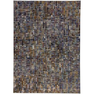 "Karastan Rugs Enigma 9' 6""x12' 11"" Rectangle Geometric Area Rug"