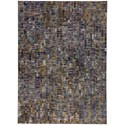 "Karastan Rugs Enigma 9' 6""x12' 11"" Rectangle Geometric Area Rug - Item Number: 90971 60129 114155"