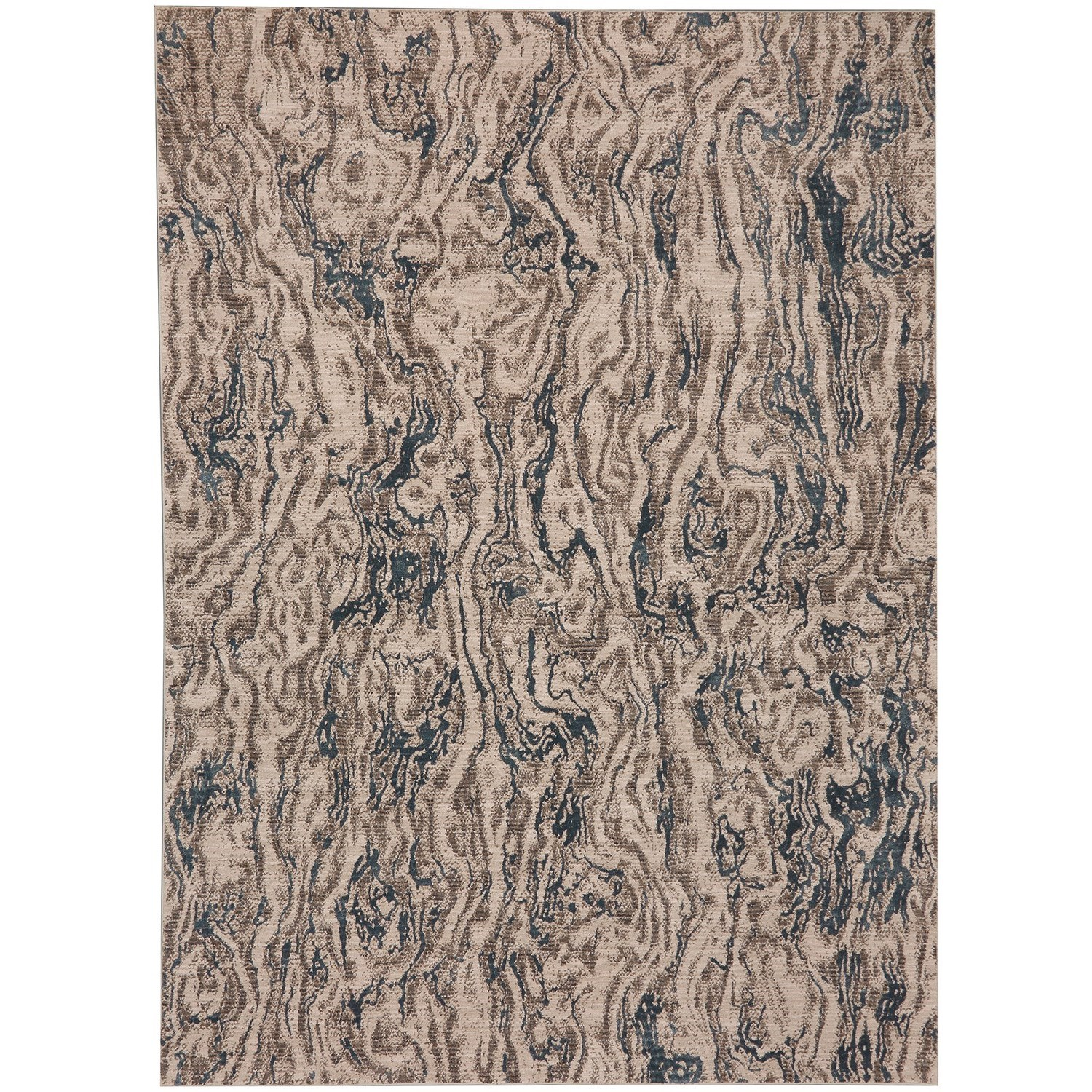 "5' 3""x7' 10"" Rectangle Abstract Area Rug"