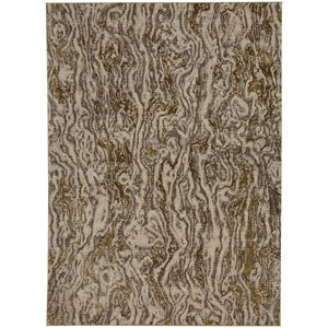 """9' 6""""x12' 11"""" Rectangle Abstract Area Rug"""