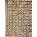 "Karastan Rugs Enigma 5' 3""x7' 10"" Rectangle Geometric Area Rug - Item Number: 90969 00918 063094"