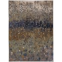 Karastan Rugs Enigma 8'x11' Rectangle Abstract Area Rug - Item Number: 90970 20047 096132