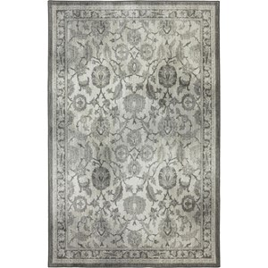 Karastan Rugs Euphoria 3'6x5'6 New Ross Ash Grey Rug