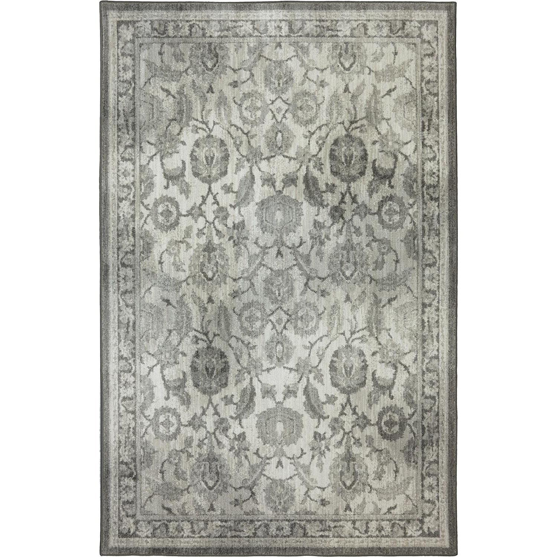 Karastan Rugs Euphoria 5'3x7'10 New Ross Ash Grey Rug - Item Number: 90259 5913 063094